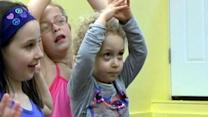 Yoga becoming latest fitness craze for kids