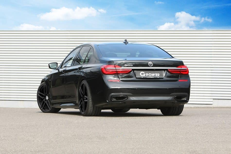 車重超過2噸的BMW G11 750d,加速性能竟然跟M3/M4一樣快?