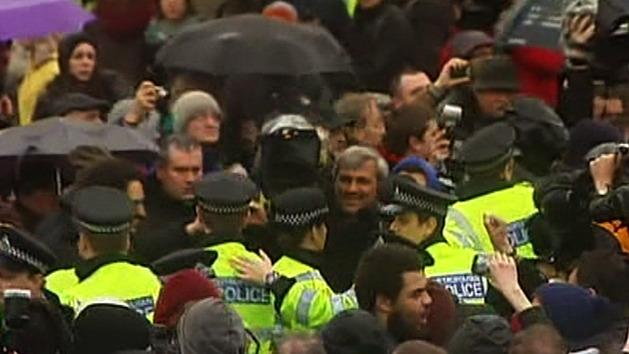 Anti-Thatcher 'party' in London