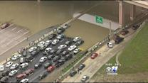 Drivers Stranded At I-30 & Loop 12 For Hours
