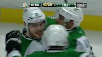 Seguin deflects Daley's shot past Andersen