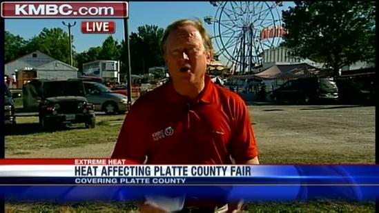 Heat causes problems for county fairs