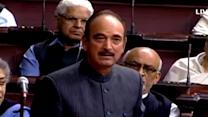 Intolerance is being manufactureng BJP party: Ghulam Nabi Azad
