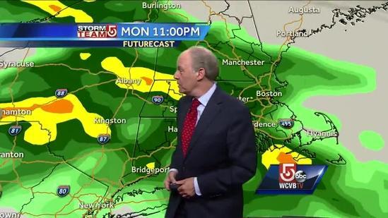 Harvey Leonard's latest Boston area forecast