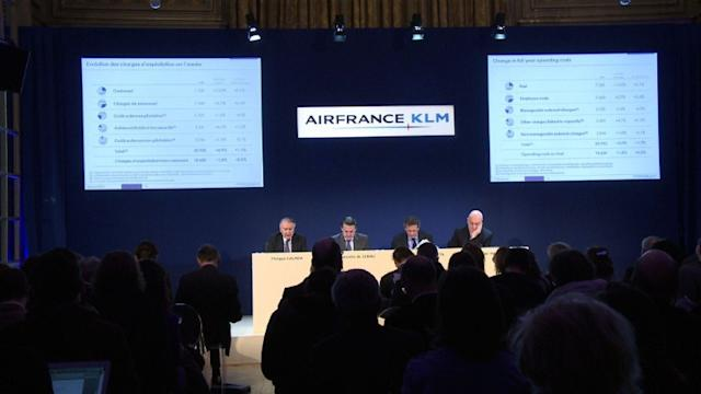 Air France-KLM : 25,6 milliards de chiffre d'affaires en 2012