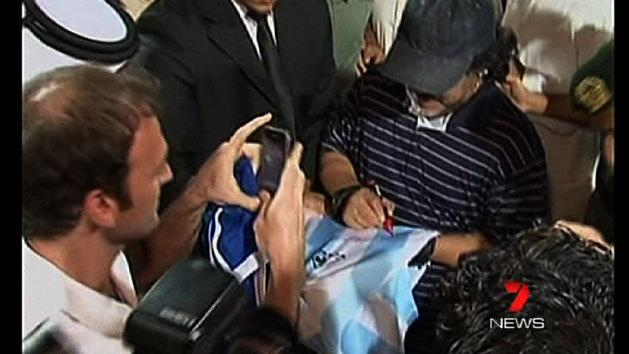 Maradona heads to UAE