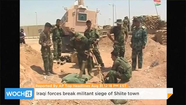 Iraqi Forces Break Militant Siege Of Shiite Town