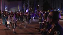 Off-duty LAPD officer's clash with teens sparks protests