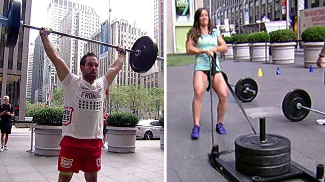 The world's fittest man and woman?