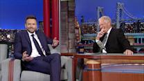 David Letterman - Joel McHale's White House Worries