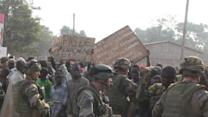 African troops fire on C.Africa protesters, one dead
