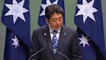 Japan's prime minister arrives for official visit to Australia
