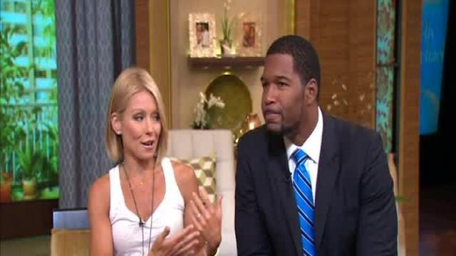 Michael Strahan marks year since 'LIVE' debut