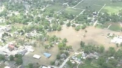 Raw Aerials: Orleans Flooding