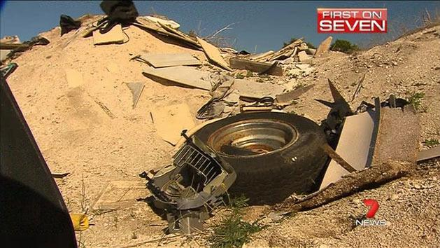 Fury over illegal dumping