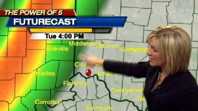 Strong Winds and Rain Tomorrow