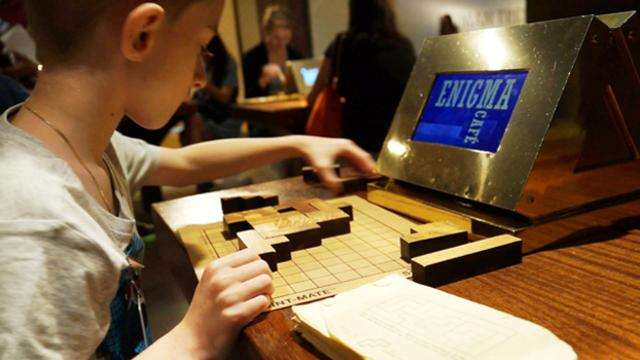 Math museum kept kids on track this summer