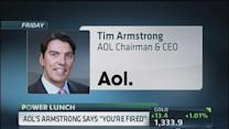 AOL's Armstrong apologizes