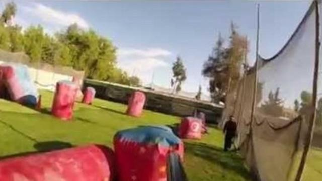 Paintball Frenzy Recorded With GoPro