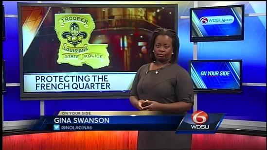 Lousiana State Police to remain in New Orleans area