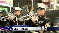 Servicemembers Greeted By Grateful New Yorkers For Fleet Week