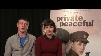 Private Peaceful Cast Interview