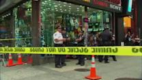 Man arrested in stabbing in Times Square