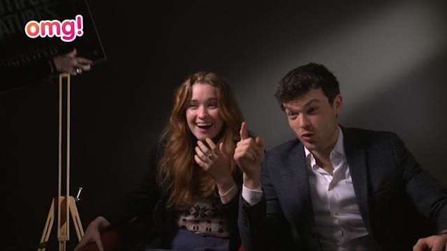 Beautiful Creatures cast get spooked!