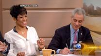 Windy City Hoops basketball program expanding; Mayor Emanuel and Isiah Thomas make announcement on Windy City LIVE