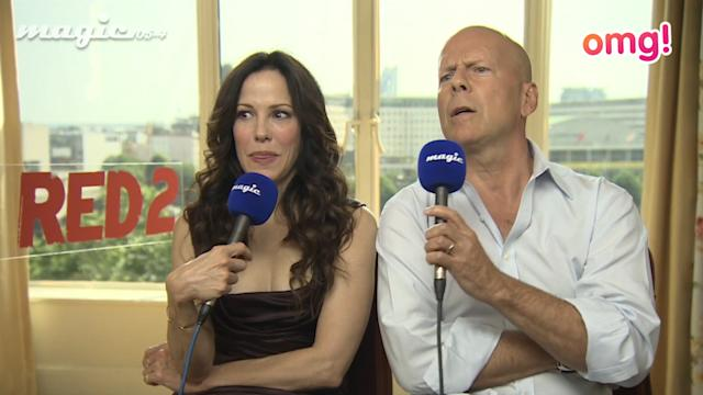 AWKS! Check out Bruce Willis' weird interview here!
