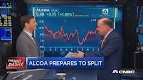 Cramer's Mad Dash: Alcoa split