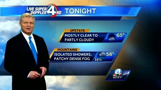 John Cessarich's forecast for Thursday, June 20, 2013