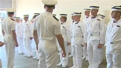 'Plebes' Welcomed To Navy Life