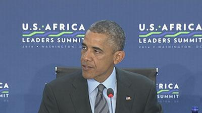 Obama opens talks with African leaders