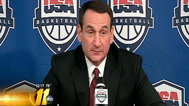 Krzyzewski returning to coach USA Basketball