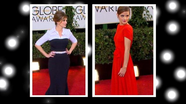 Emma Watson and Julia Roberts Cause Fashion Buzz With Unconventional Gowns