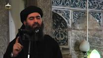 Video Purportedly Shows Islamic State Leader
