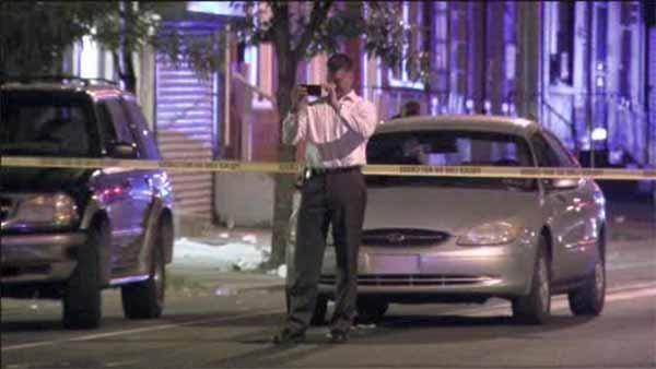 Suspect arrested after police witness North Philadelphia shooting