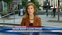 Officer cleared in fatal shooting of teen downtown