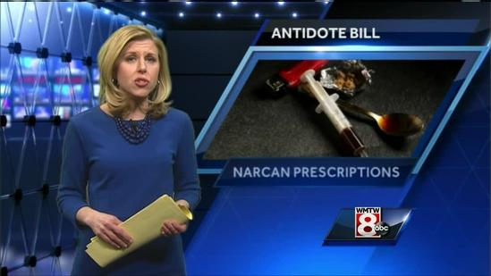 New bill would equip first responders with overdose drug