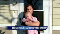 Teen found handcuffed had been pulled from NKC Schools