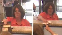 Woman sought in 2 bank fraud cases