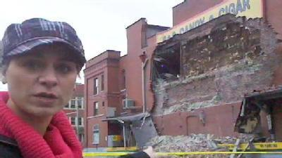 Marcie Cipriani Blog: South Side Wall Collapse