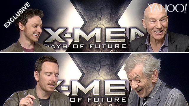 X-Men cast do impressions of each other (exclusive)