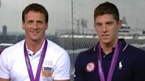 Ryan Lochte, Conor Dwyer Interview: 'DWTS' Participation More Likely Than 'The Bachelor' for Lochte