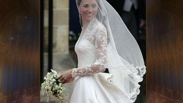 Kate Middleton's wedding dress sets a new trend