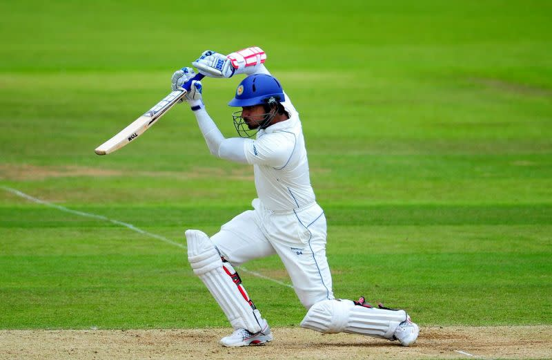Sangakkara was just one double ton short of Bradman's world record when he ended his career