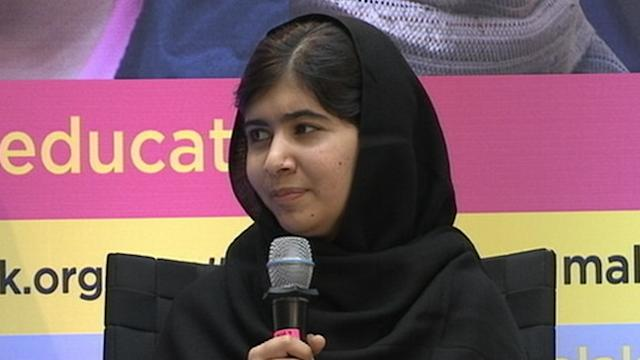 Malala Jokes About 'Cruel' Little Brothers at World Bank