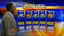 Meteorologist Tim Williams Has Your Tuesday Morning Forecast