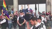 Police Officer Proposes to His Partner at London Pride Parade